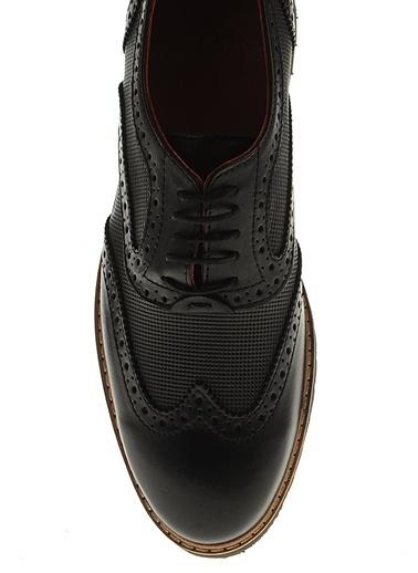 Derigo %100 Deri Casual Ayakkabı Siyah